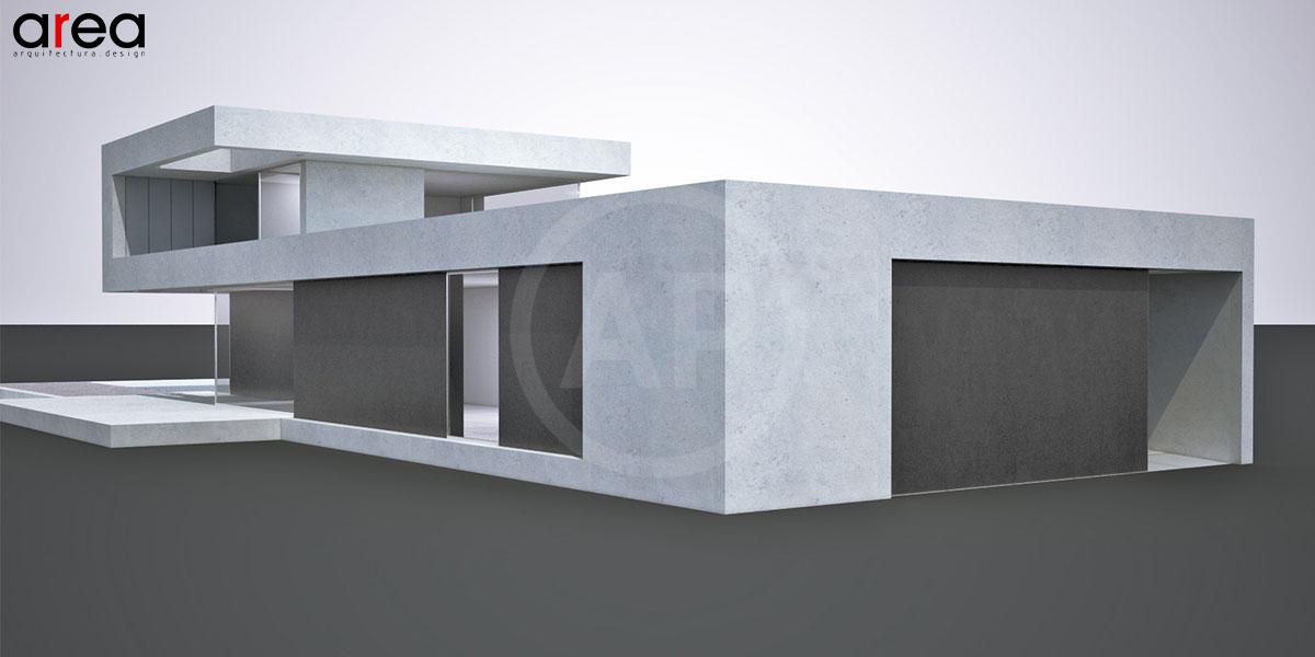Chalet minimalista in barcellona for Piani di casa minimalista