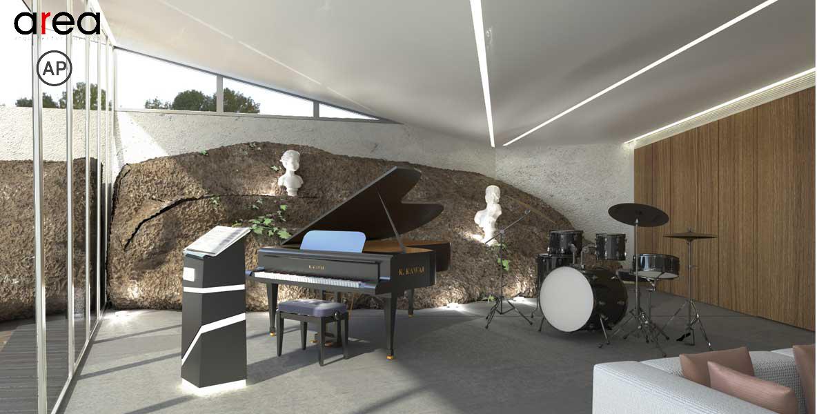 Casa della musica for Interno della casa