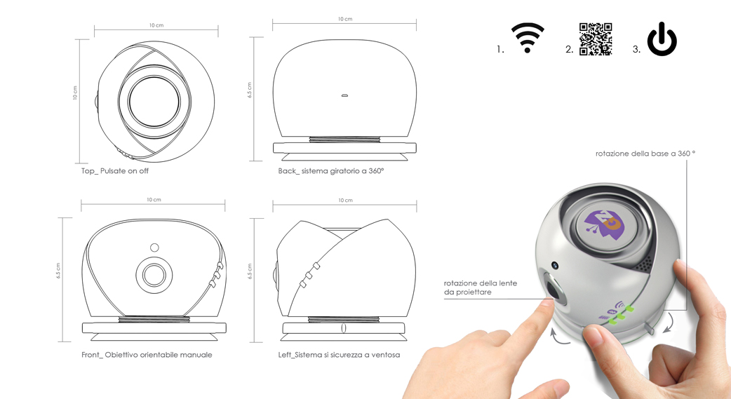 miniproiettore-design